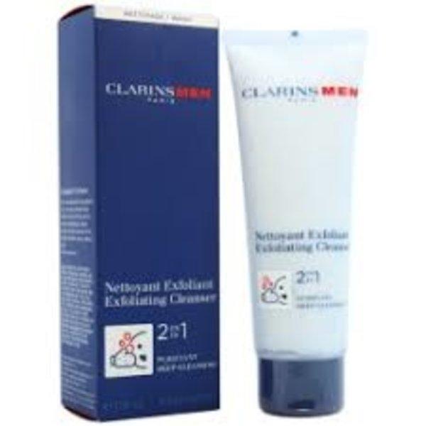 Clarins Men 2 In 1 Exfoliating Cleanser 125 ml