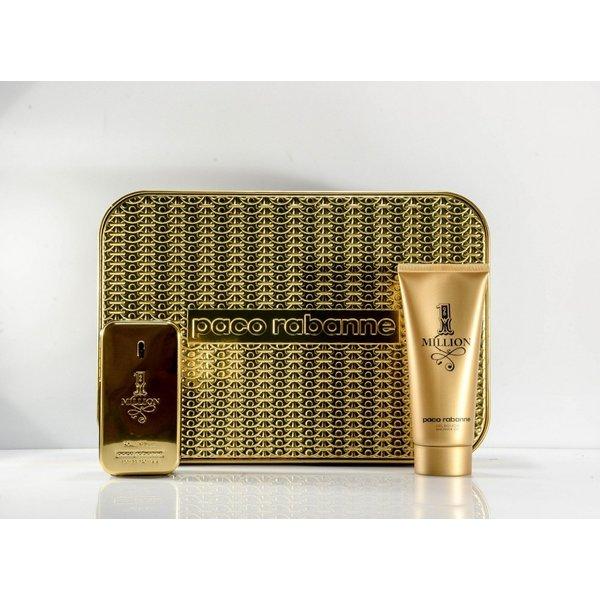 Paco Rabanne 1 Million Giftset Edt Spray 50ml/Shower Gel 100ml)