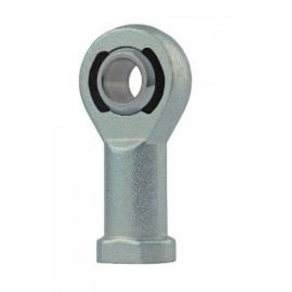 Stangkop onderhoudsvrij staal op polyamide-PTFE-glasvezel rechts inwendig schroefdraad BEF 06-20-501