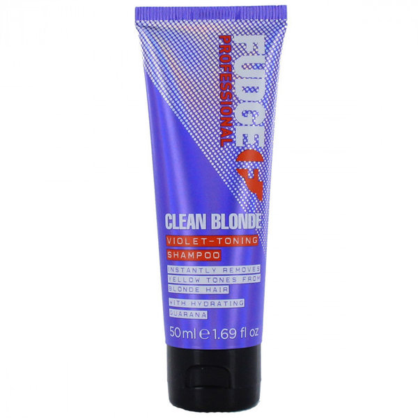 Fudge Clean Blonde Violet Toning Shampoo 50 ml