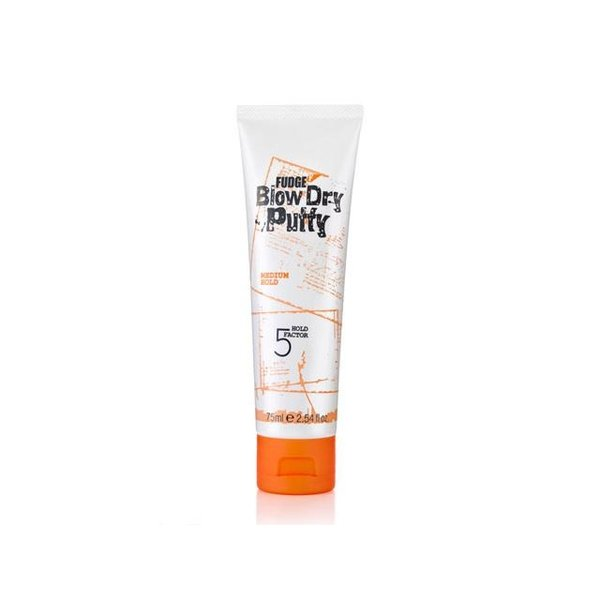 Fudge Blow Dry Putty Hold Factor 5 75 ml