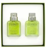 Calvin Klein Eternity giftset - 100 ml EDT spray + 100 ml After Shave