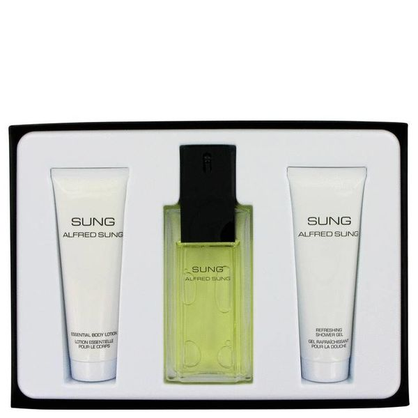 Alfred Sung Sung Dames EDT spray 100 ml + 75 ml BL + 75 ml SG