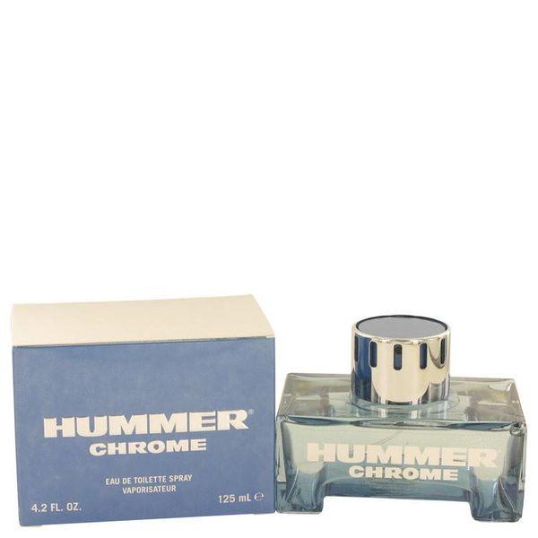 Hummer Chrome Cologne 125 ml eau de toilette