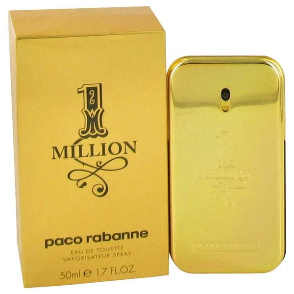 Paco Rabanne 1 Million Heren eau de toilette spray 50 ml
