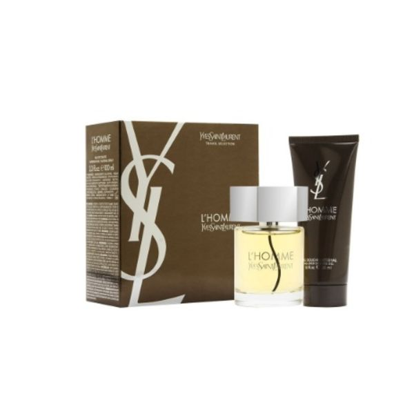 Yves Saint Laurent L'Homme Giftset 100 ml Eau de toilette + 100 ml Showergel Cadeauset