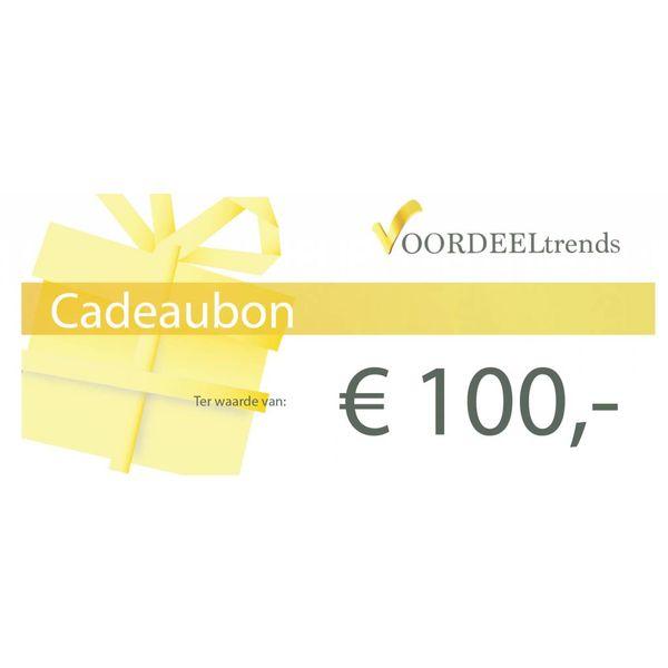 Cadeaubon t.w.v. €100,-