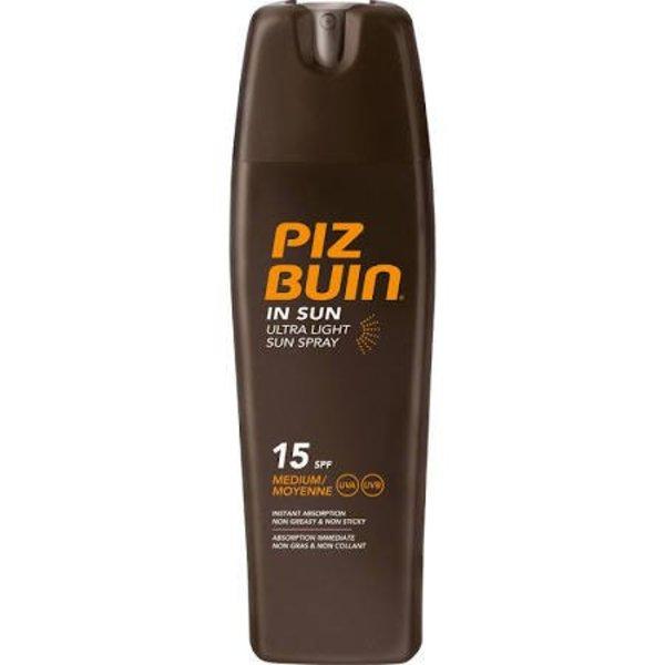 Piz Buin SPF15 Ultra Light Sun Spray Zonnespray 200 ml