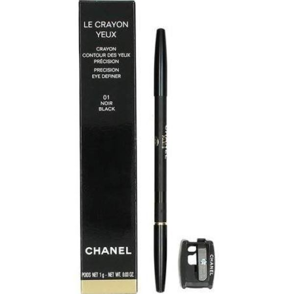 Chanel #01 Noir Le Crayon Yeux - 1 gram - Oogpotlood