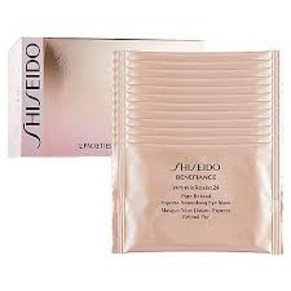 Shiseido Benefiance Wrinkle Resist 24 Express Smoothing Eye Mask 12 St