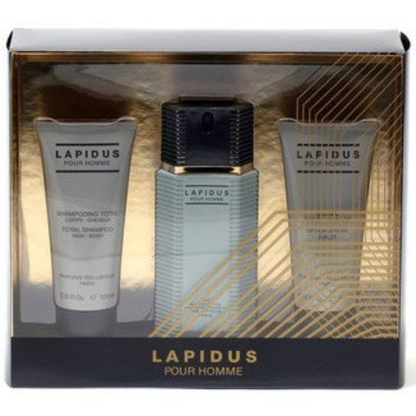 Ted Lapidus Men Giftset 100 ml EDT, 100 ml After Shave, 100 ml Shower Gel