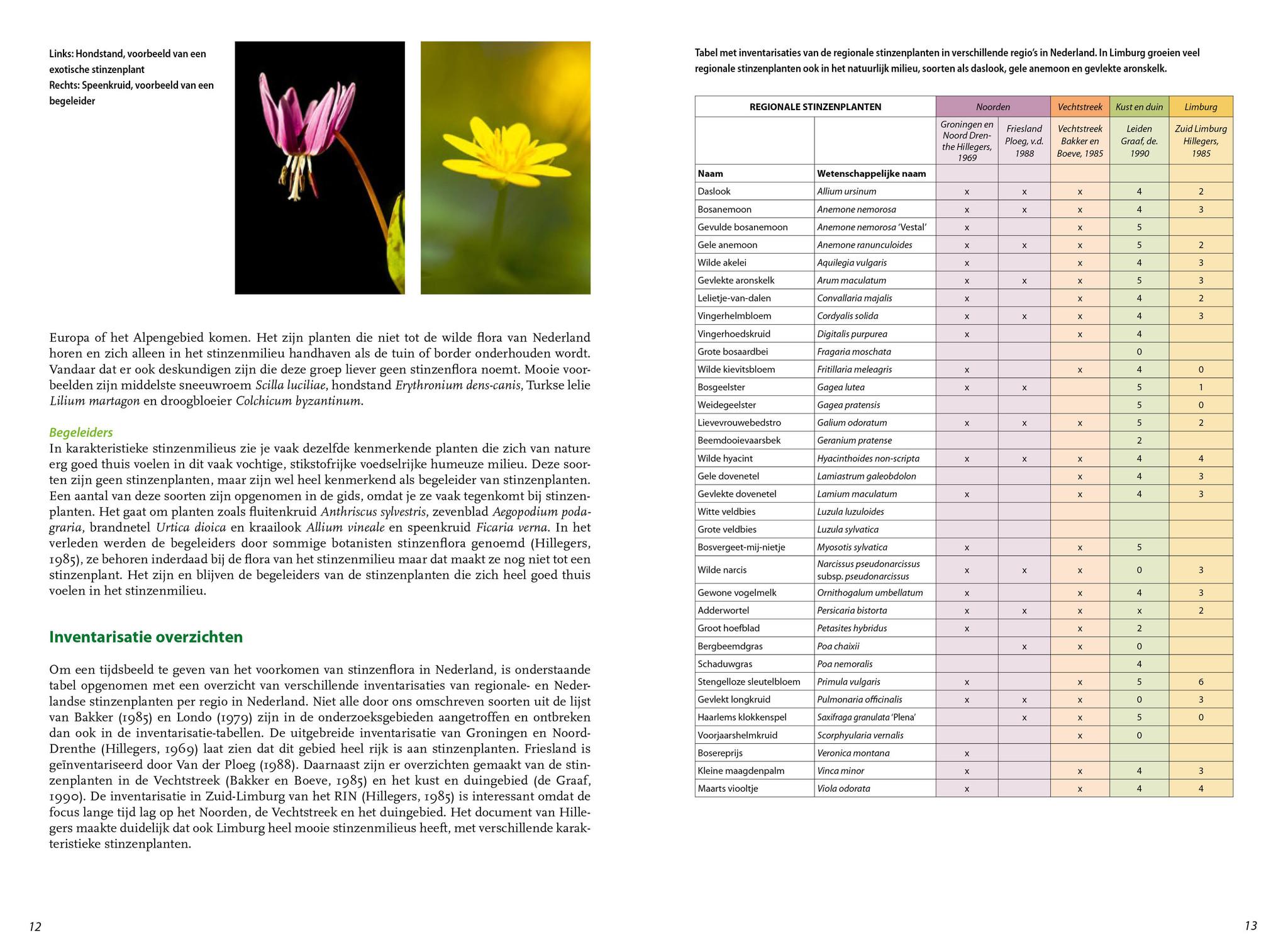 Boek  Basisgids stinzenplanten