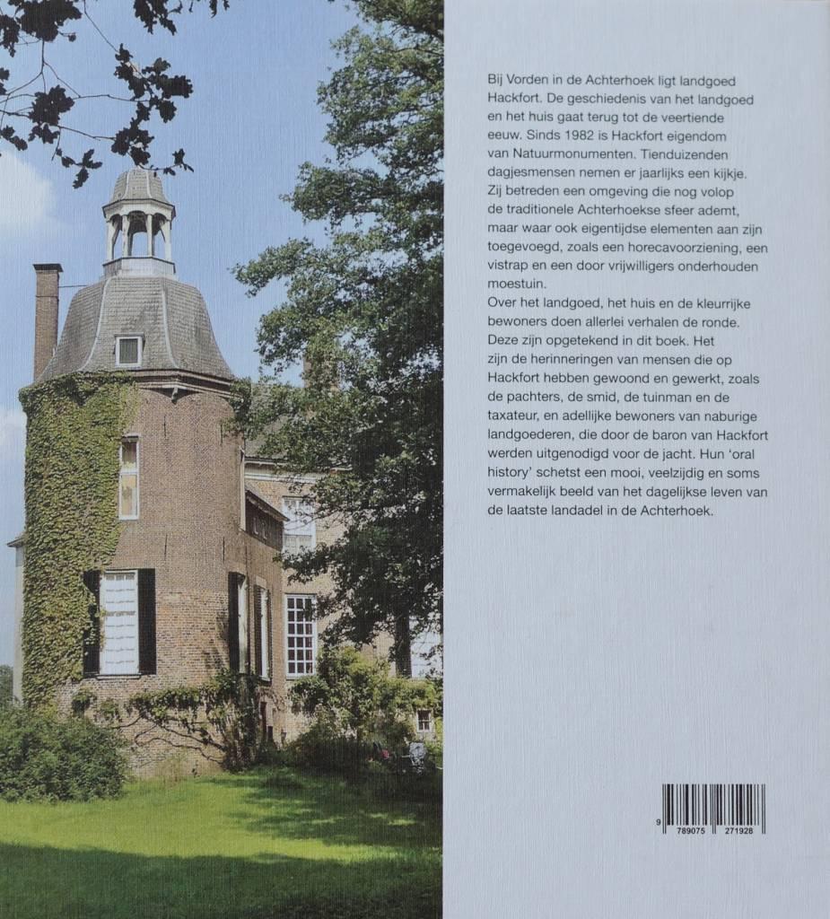 Boek  Verhalen over landgoed Hackfort