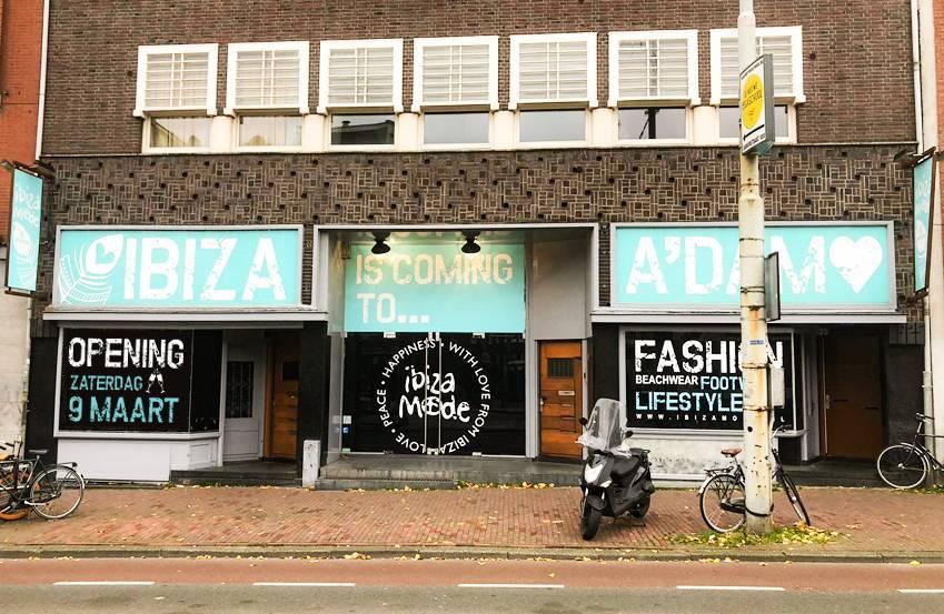 Der Ibizamode & Wonen Store wird am 9. März in Amsterdam eröffnet