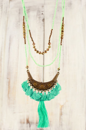 Necklace Ornament - Turquoise
