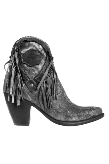Leather Ankle Boots Kaley Freedom Umbra - Antra