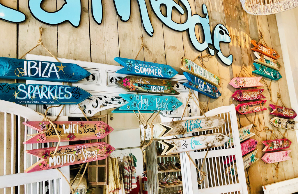 Neu bei Ibizamode: die Ibiza-Schilder von By Jootje