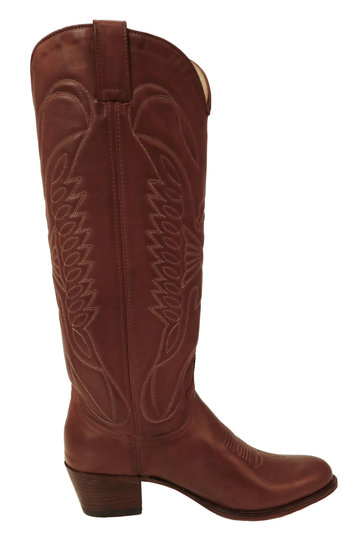 Boots Salvaje Leather Brown