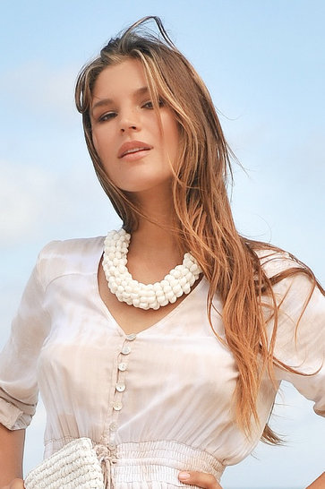 Necklace Fortaleza White