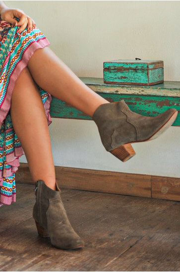 Ankle boots Corda Taupe