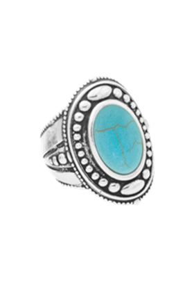 Ring Vera Oval Turquoise