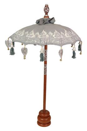 Table umbrella gray-silver