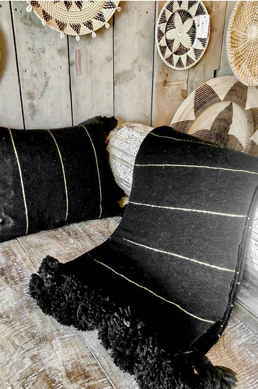 Blanket Marrakesh Black