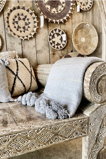 Blanket Marrakesh Gray