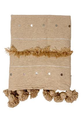 Decke Handira Pompom Kamel