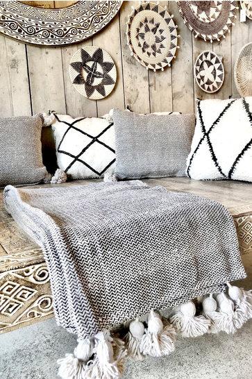 Luxury Woven Blanket Cream