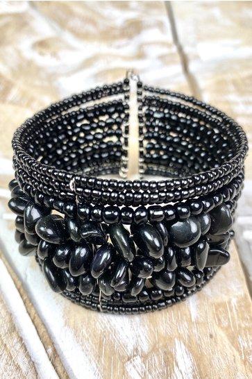Bracelet Renka Stone Black