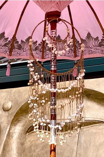 Dekoration Muscheln Pink