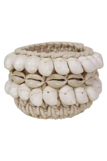 Basket Shells Ecru