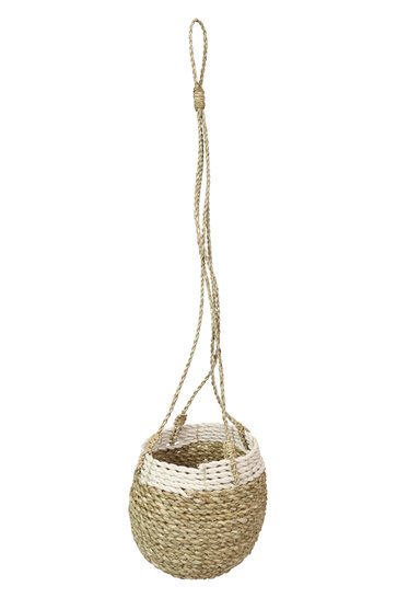 Hanging pot Rattan Natural