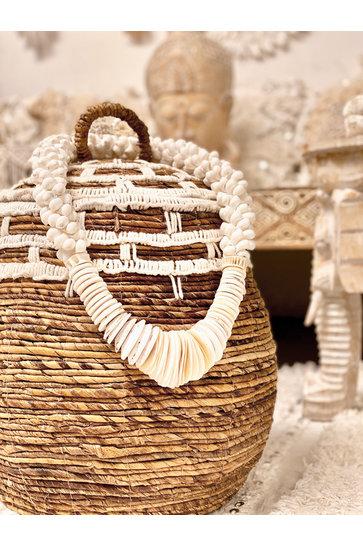 Chain Shells On Standard White 60cm