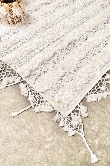 Bedspread Marrakesh White
