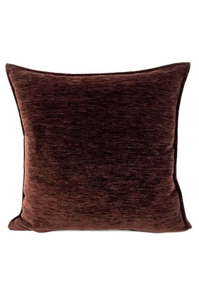 Decorative pillow Dark brown 70x70cm