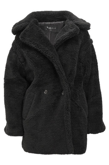 Teddy Coat Nova Black