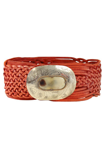 Belt Marrakesh Oval Cognac