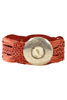 Belt Marrakesh Circle Cognac