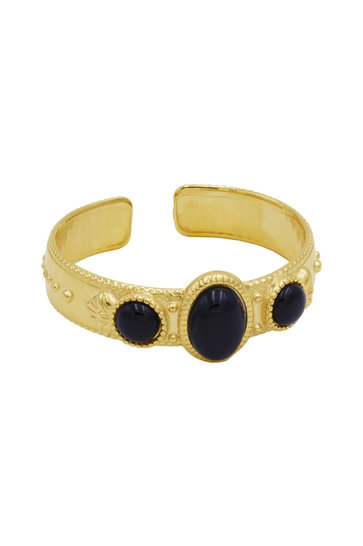 Armband Riviera Pierre Rondes Gold