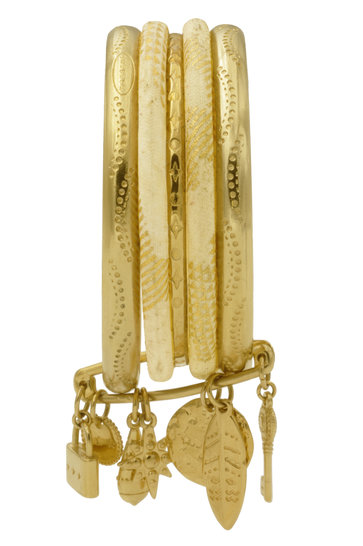 Bracelet Riviera Champagne Glam Gold