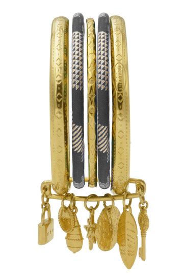 Bracelet Riviera Champagne Black Gold