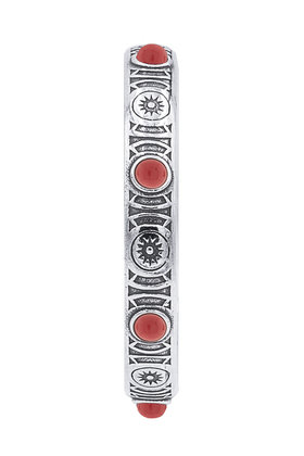 Armband Noble Indian Red Zilver