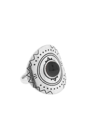 Ring Round Engraving Silver