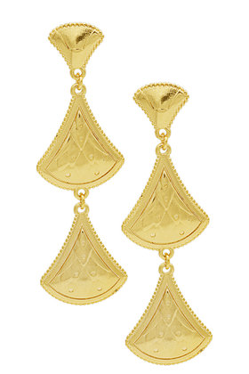 Earrings Riviera Pendant Deux Gold
