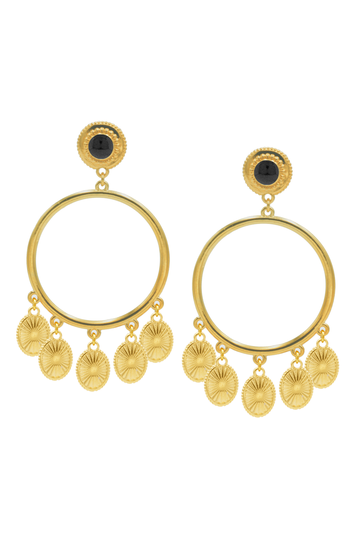 Earrings Riviera Pamp Gold