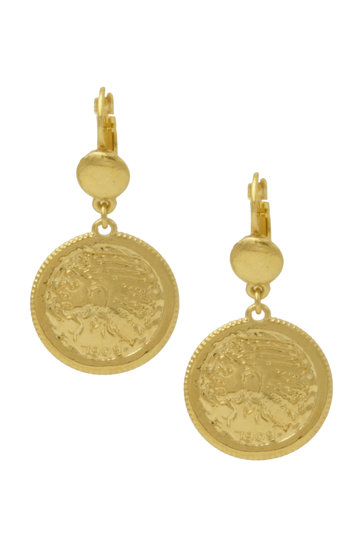 Earrings Riviera Dormeuse Gold