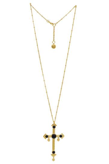 Halskette Riviera Croix Gold