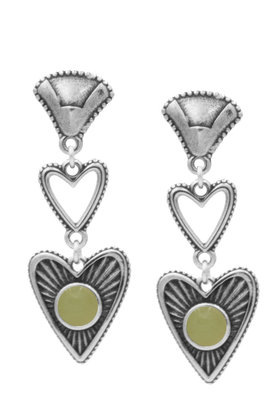 Earrings Carmen Strie Silver